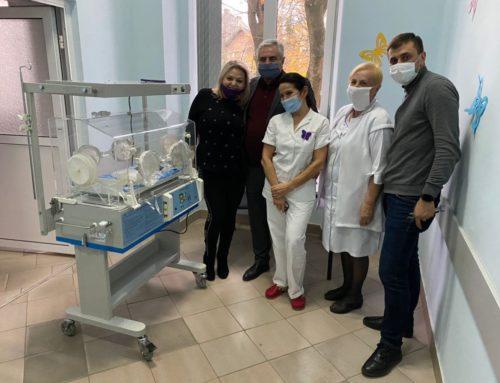 Інкубатори та монітор спостереження: неонатальний центр отримав апаратуру для порятунку немовлят