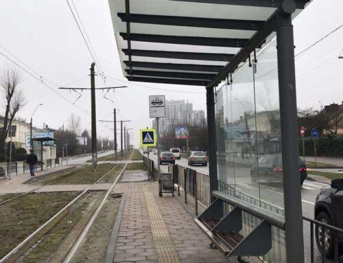 На трамвайному маршруті № 3 встановили шість сучасних зупинок